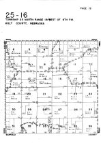 Township 25 North - Range 16 West, Holt County 1948